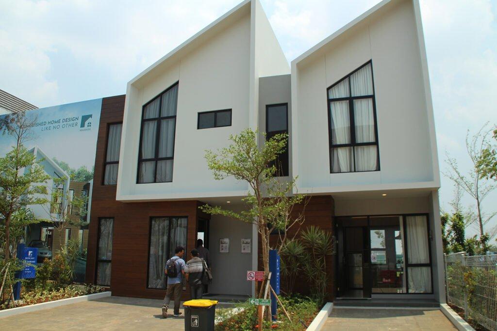Rumah contoh CitraGarden Puri Jakarta Barat