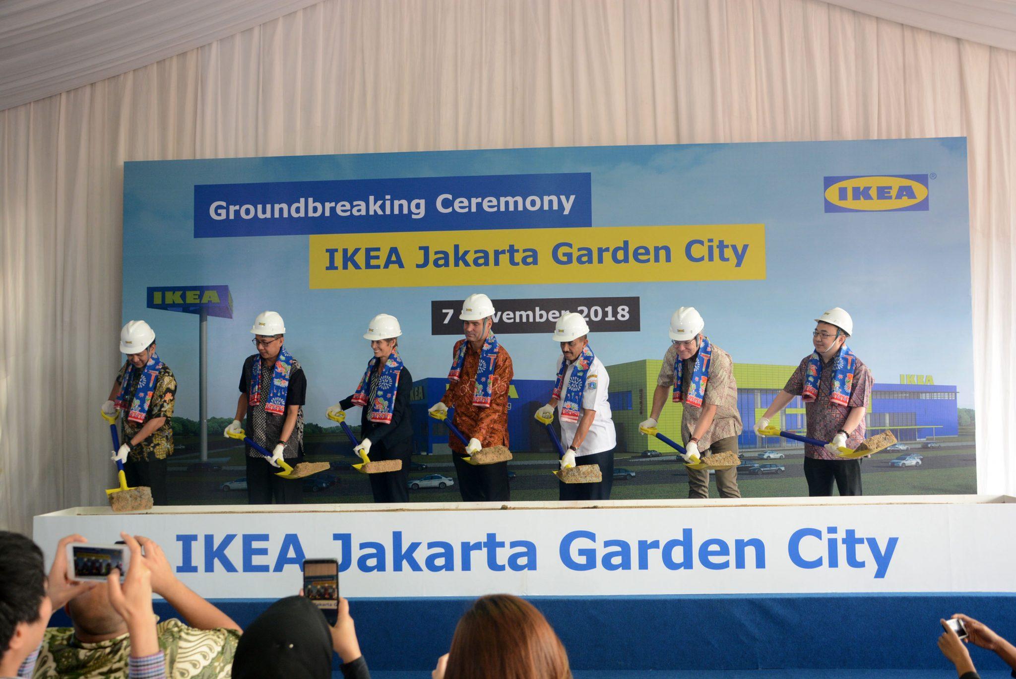 IKEA Jakarta Garden City Mulai Dibangun  Property and The City