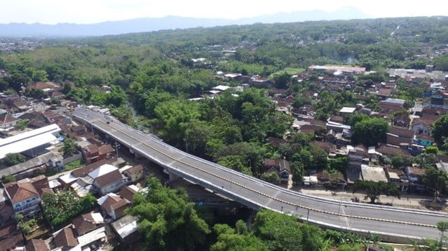 Flyover Menuju CitraGarden Malang