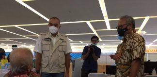 vaksinasi lansia di Mall Ciputra Tangerang