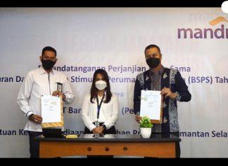 Kementerian PUPR menjalin kerja sama dengan Bank Mandiri untuk menyalurkan dana BSPS di Kalimantan Selatan