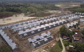 Progres pembangunan hunian di kawasan Modernland Cilejit, Tangerang