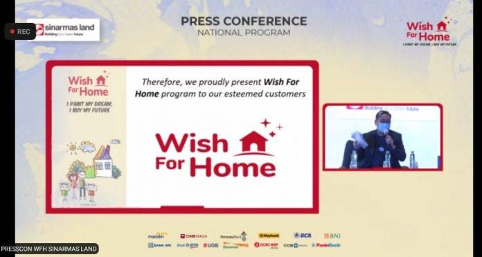 Program Wish for Home dari Sinar Mas Land