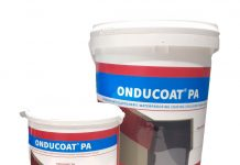 Produk pelapis kedap air (waterproofing) Onducoat PA dari Onduline