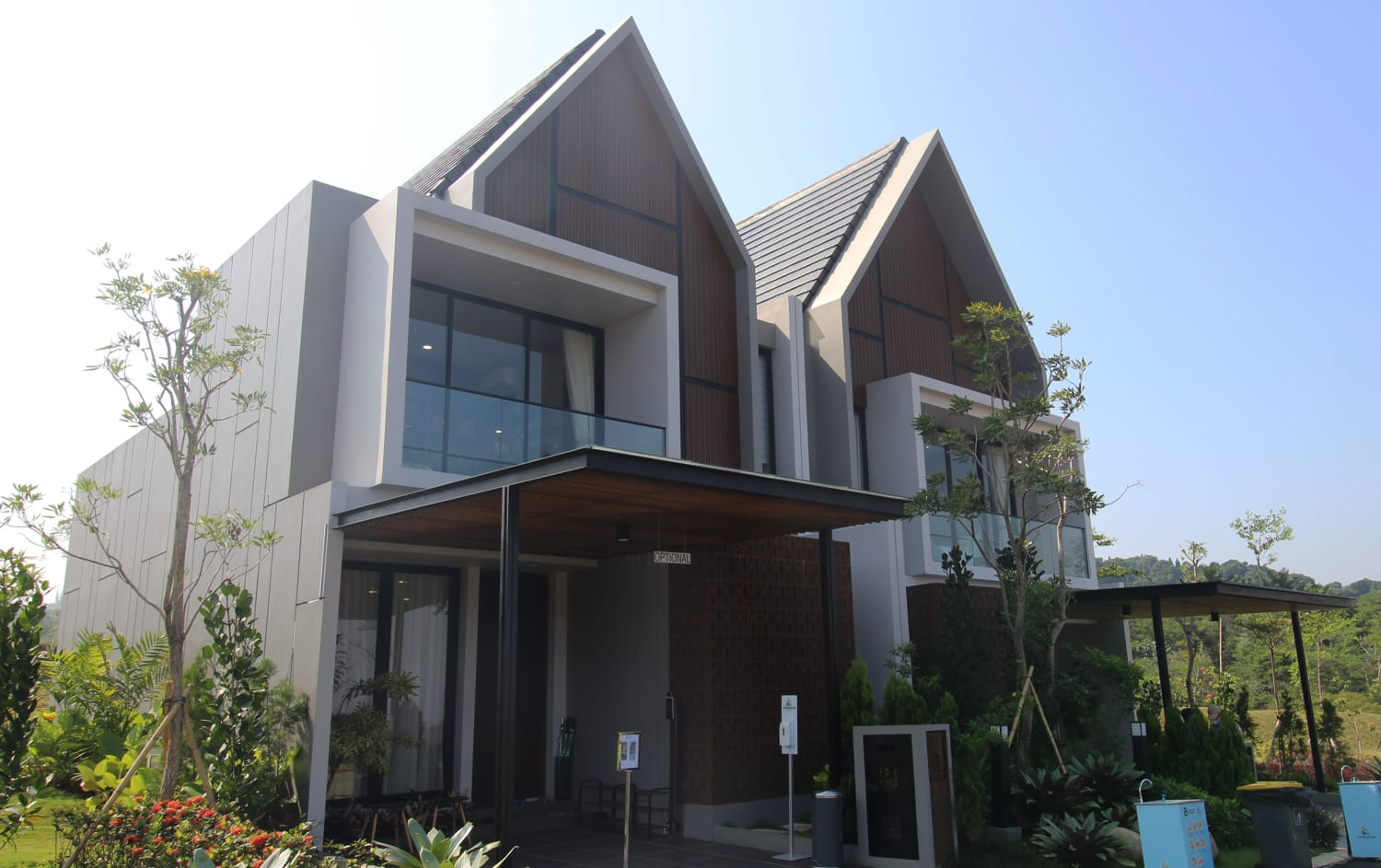 Unit contoh The Pinewood Residence