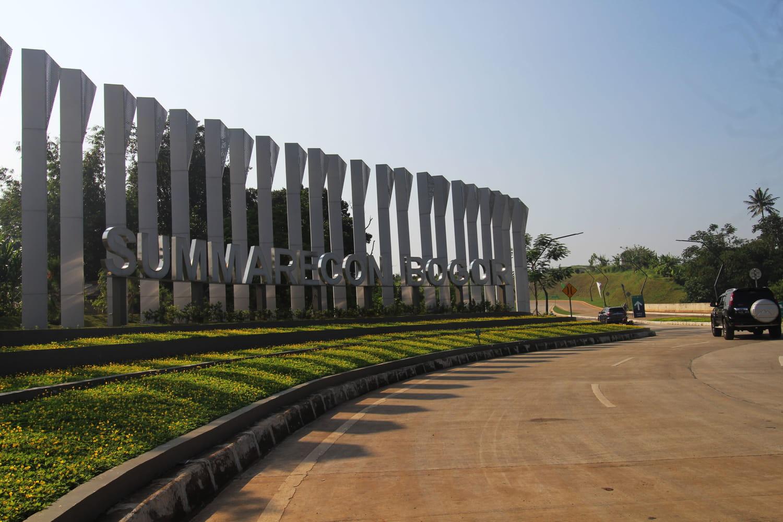 Kota Mandiri Baru Summarecon Bogor seluas 500 hektar