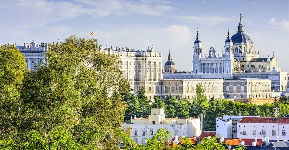 Royal Palace of Madrid, Spanyol